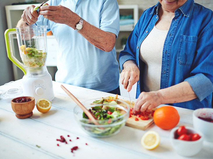 What is the ideal diet for people over 60?
